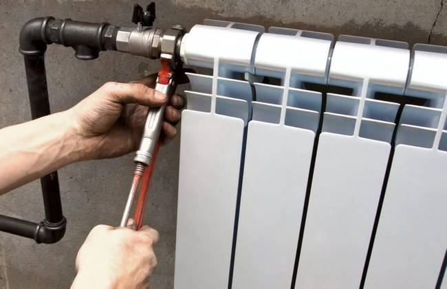 Установка радиаторов отопления в СПб