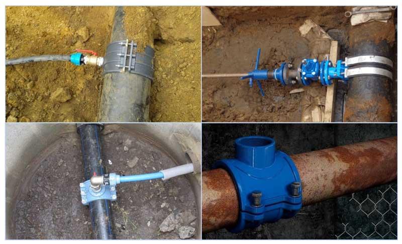 Стоимость прокладки водопровода за метр открытым способом